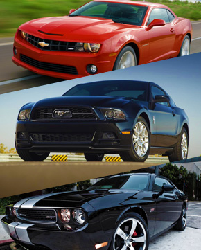 Camaro , Mustang & Challenger Racer Pack