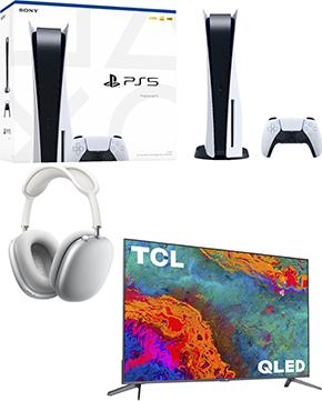 Headphones, TV OR PS5