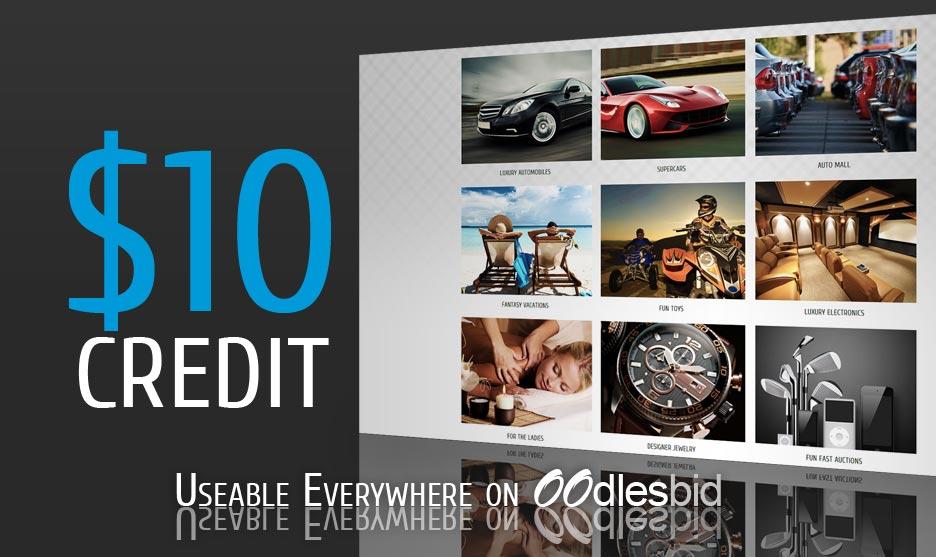 Free $10 Credit
